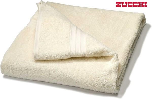Handtuch ZUCCHI 100 x 150 cm – 100% Baumwolle beige Badehandtuch