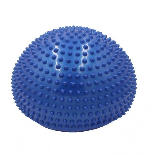 Balance Dome, Kissen mit Noppen ca. Ø 33 cm blau, optimal für Gleichgewichtsübungen