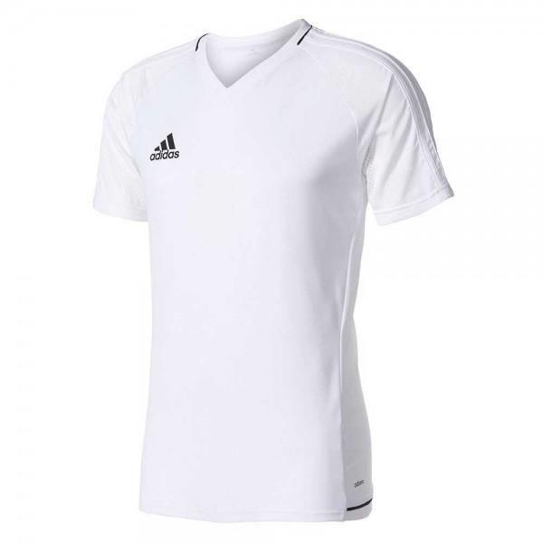 Adidas TIRO17 Trainingsshirt white/black BQ2801