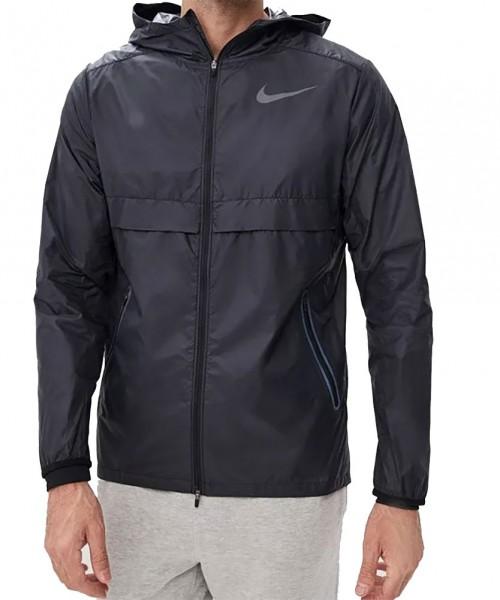 Nike Running Herren Shield Jacke 928489-010, Funktionsjacke, schwarz