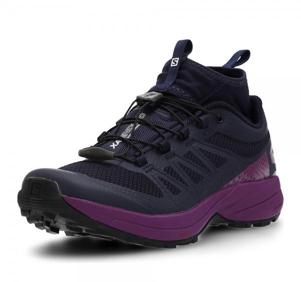 Salomon XA Enduro W Traillaufschuh AW17, Evening Blue/Grape Juice/Black Damen