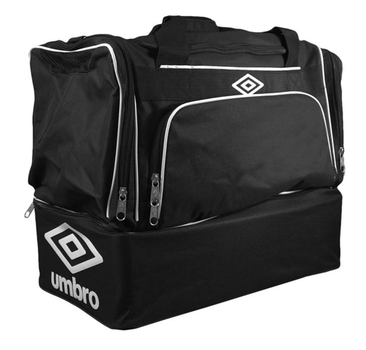 10er Set Umbro große Sporttasche mit extra Bodenfach