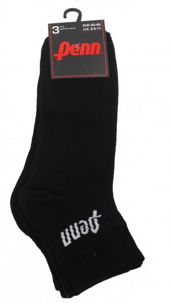 15 Paar PENN Sportsocken, quarter socks, Sport Tennis Fußball Unisex 35-40